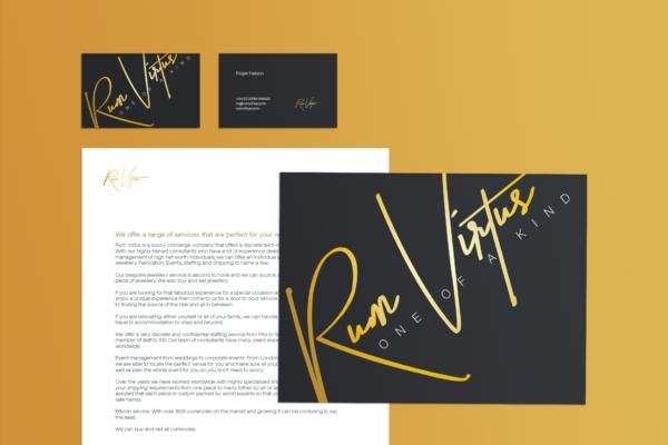 Business Cards, Headed Paper, Logo Design