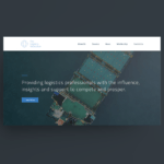 The Logistics Association Website Mock-up