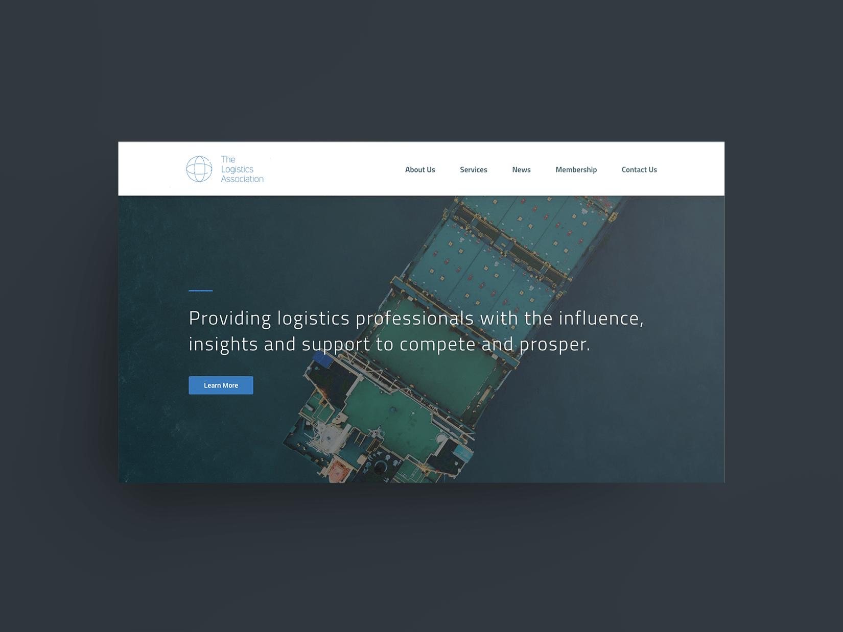 The Logistics Association Website & Branding Project
