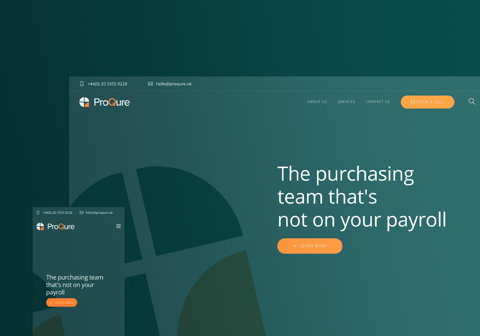 ProQure Project (Website)