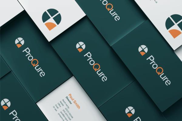 ProQure Branding Project (Logo Business Cards)